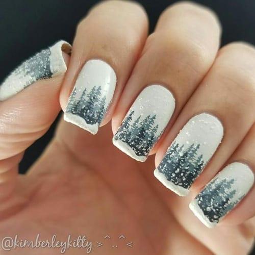 67 Trending Winter Nail Designs