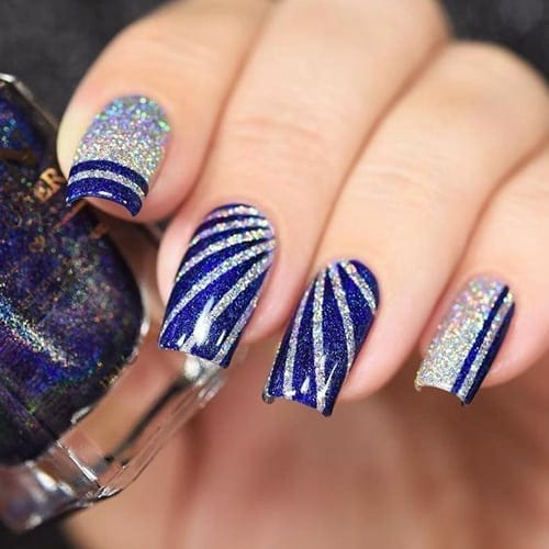 19 winter nail designs that are cold as ice best nail art 19 winter nail designs that are cold as ice prinsesfo Image collections